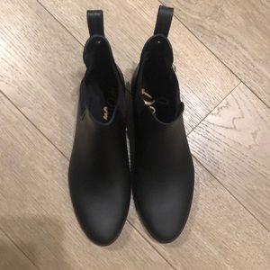 Sam Edelman Tinsley Matte Black Rain Boot -9